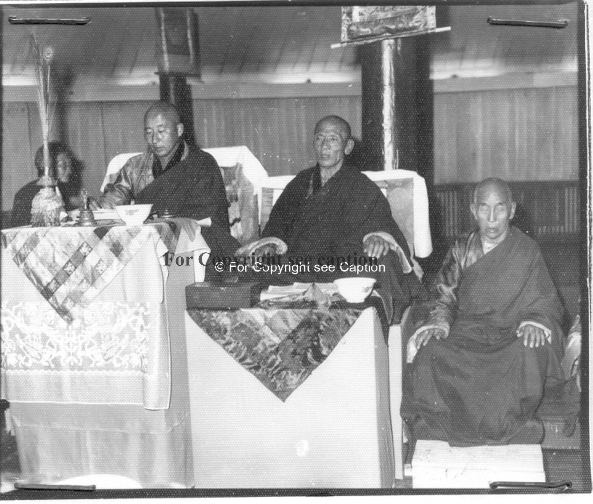 Revival of Züün Khüree Dashchoilin Monastery in 1990. Ch. Dambajav abbot, Chandraabal tsorj. Film Ar