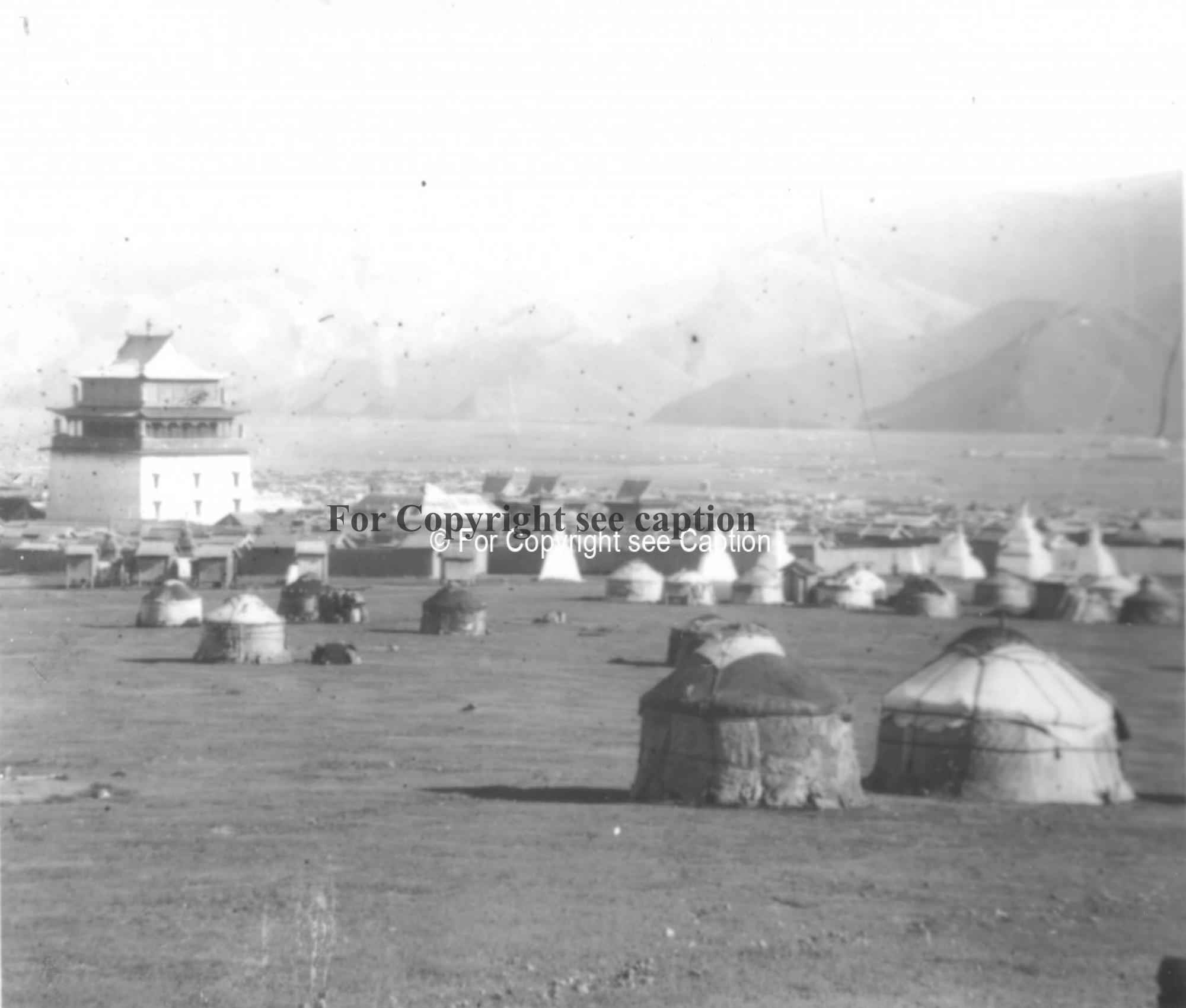 Gandan monastery from the North-West. Film Archives K-24226