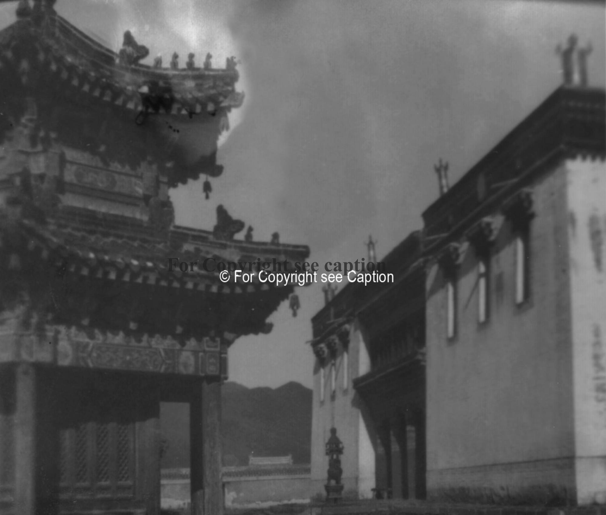 The main assembly hall and the Eastern Historical Temple. Film Archives ?