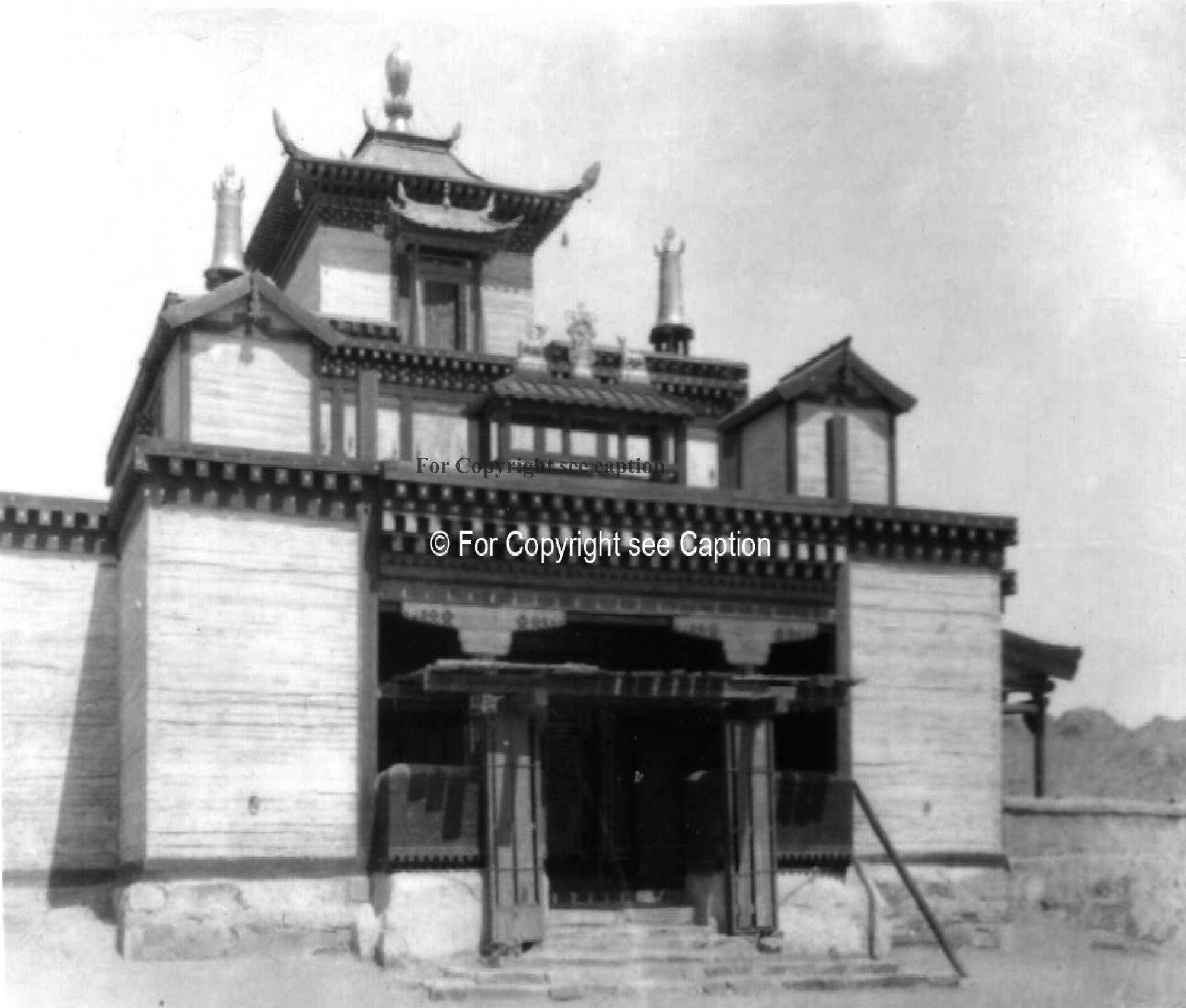 A temple building of Choir (?). Film Archives K-23969